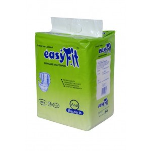 EASYFIT DISPOSABLE ADULT DIAPERS LARGE